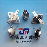 供应TM22断电复位温控开关 加PTC温度开关