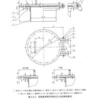 HG/T21517-2014回转盖带颈平焊法兰人孔