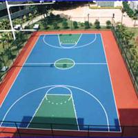 上海耐用塑胶篮球场