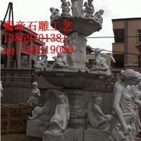供应花岗岩石雕喷泉 绣石汉白玉喷泉