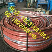 红色蒸汽胶管 红色耐温耐压橡胶管