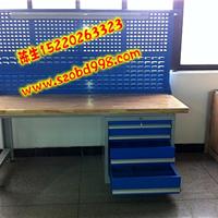 榉木桌面电工工作台,承重型实木模具桌