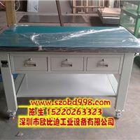 供应铁板合成工作台,榉木钳工桌生产厂家