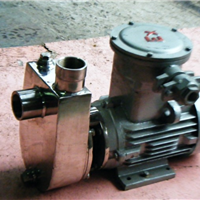 SFBX不銹鋼防爆自吸泵