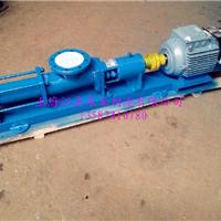 供应永嘉品牌螺杆泵G25-1单螺杆泵