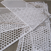 供应pp板冲孔板 塑料孔板网 装饰孔板