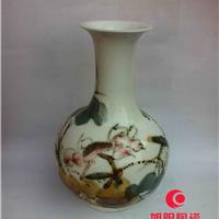 供应荷花陶瓷花瓶,各种青花山水陶瓷花瓶