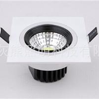 厂家直供新款5W 白色COB方形LED天花灯