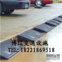 供应橡胶路沿坡 路道坡 路斜坡 垫板 斜坡垫