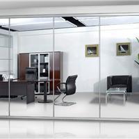 宿州办公室会客厅玻璃隔断三种装修方案