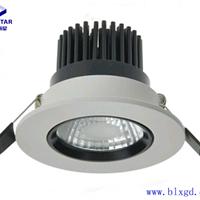 供应单颗10W可调向嵌入式LED筒灯