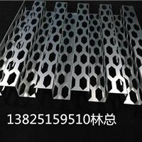 奥迪4S店外墙冲孔长城铝板