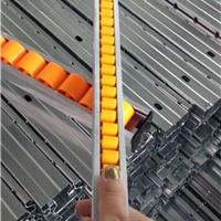 供应成都线棒通用货架加强型钣金流利条厂家