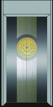 蚀刻加工不锈钢电梯门不锈钢镀金黑钛板