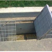 供应迎宾热镀锌水沟盖板,雨水篦子