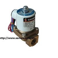 SANWO三和电磁阀 2通阀 先导电磁阀 铜