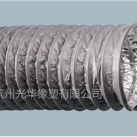 厂家耐高温双面铝箔伸缩软管排烟风管铝管