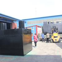 供应赤峰地埋式一体化污水处理设备