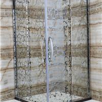 酒店冲凉干湿分区玻璃门 别墅浴室玻璃移门
