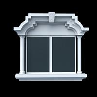 供应广州grc 外墙装饰窗套 欧式线条