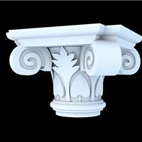广州grc 罗马柱 欧式柱头柱础 欧式构件