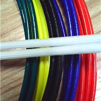 供应彩色内纤外胶套管,彩色阻燃内纤玻纤管