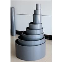 供应陕西高抗冲饮水聚氯乙烯(PVC-M)管材