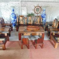 传家船木家具沙发