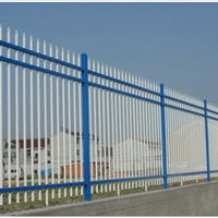 供应锌钢围栏、铁艺栏杆、特殊规格加工定做