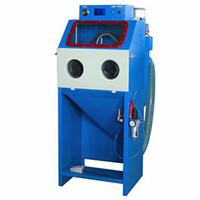 供应浙江温州6050E小型手动箱体式喷砂机厂