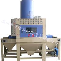 供应平面输送式自动喷砂机可定制非标型