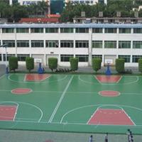塑胶跑道体育场建设
