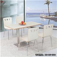 批发供应餐厅家具,板式不锈钢桌椅CT614