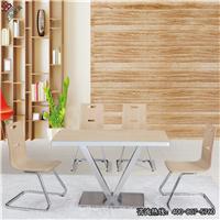 供应餐厅桌椅,板式桌椅CT614