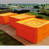 供应西安鸿安消防气柱型救生气垫