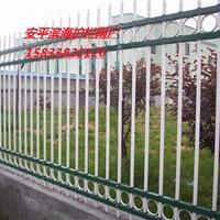 供应现货锌钢护栏【C型】四横杠带双花