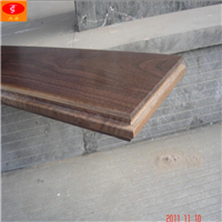 厂家供应,美国黑胡桃多层实木复合地板