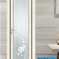 1.0至1.4厚洗手间玻璃平开门的禁忌
