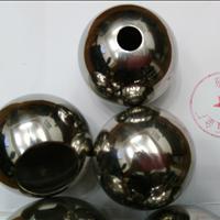 供应工程施工不锈钢空心圆球 带孔球