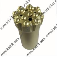供应89mm T45 液压台车螺纹连接球齿钻头