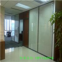 供应办公隔断墙玻璃隔断铝镁合金高隔断