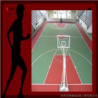 承接苏浙皖等地区弹性PU篮球场地坪施工
