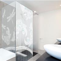供应艺术淋浴房玻璃