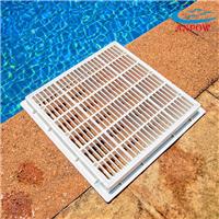 供应游泳池排水器 方形主排水 池底出水器口