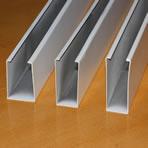 供应木纹铝方通吊顶装饰材料