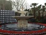 供应埃及米黄喷水池 景观喷水池 装饰喷水池