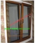 供应90钢纱一体铝木推拉窗 铝木推拉窗厂家