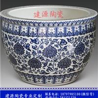 供应摆件陶瓷大缸 风水陶瓷大缸