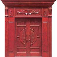 南昌建筑材料―原木门供应