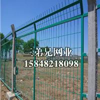 包头铁丝围墙防护网厂家价格 双边铁丝护栏
